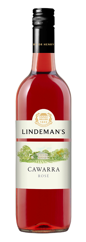 Bottle of Lindemans Cawarra Rose