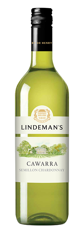 Bottle of Lindemans Cawarra Semillon Chardonnay