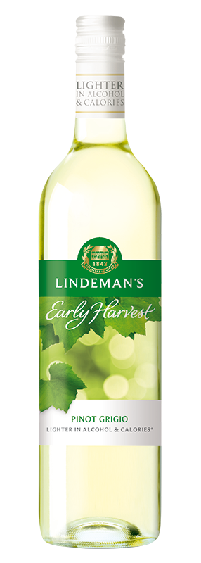Bottle of Lindemans Early Harvest Pinot Grigio